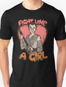 Fight Like A Scavenger (Fight Like A Girl) Unisex T-Shirt