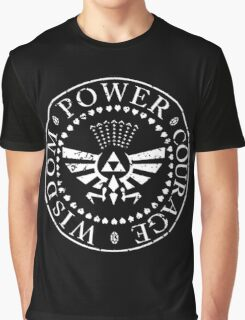 The Legend of Zelda Triforce Graphic T-Shirt