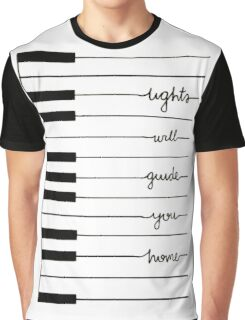 lights will guide you home Graphic T-Shirt