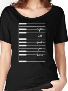 lights will guide you home Women's Relaxed Fit T-Shirt