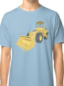 Bulldozer 3D projection Classic T-Shirt