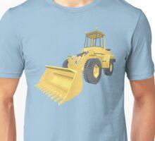 Bulldozer 3D projection Unisex T-Shirt