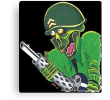 SOLDIER OF DEATH Canvas Print