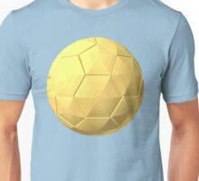 soccer ball gold Unisex T-Shirt
