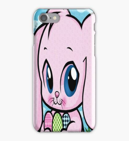 Cute Easter Bunny iPhone Case/Skin