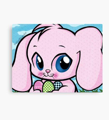 Cute Easter Bunny Canvas Print
