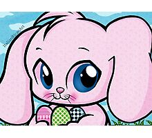 Cute Easter Bunny Photographic Print