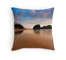 Glasshouse Beach Throw Pillow