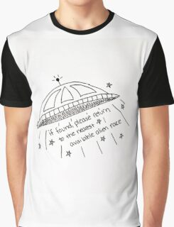 ALIEN ABDUCTION Graphic T-Shirt