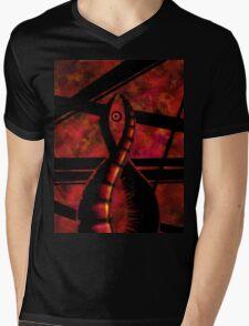 Sinister Helix Mens V-Neck T-Shirt