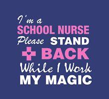 I'm A School Nurse Womens Fitted T-Shirt
