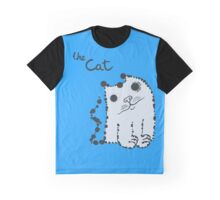 Funny cute ink splashes cats. Graphic T-Shirt
