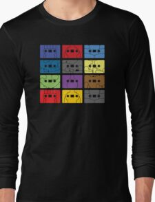 Something About My Cassettes Long Sleeve T-Shirt