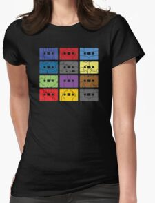Something About My Cassettes Womens Fitted T-Shirt