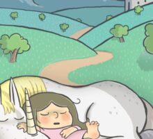 Sleeping Princess Sticker