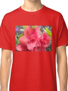 Spring Time Pink Flowers Classic T-Shirt