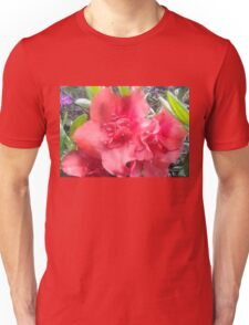 Spring Time Pink Flowers Unisex T-Shirt