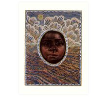 'Icon to a Stolen Child: Wave' by Julie Dowling Art Print
