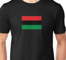 Pan African Flag T-Shirt - UNIA Flag Sticker - Afro American Flag Unisex T-Shirt