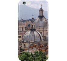 Rome rooftops iPhone Case/Skin
