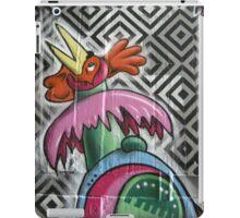 graffiti robot chicken iPad Case/Skin