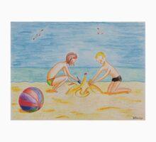 Children on the beach Kids Tee