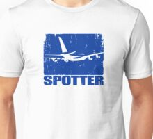 Tail spotter in blue Unisex T-Shirt