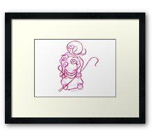 sketch-RA Framed Print
