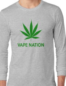 VAPE NATION Long Sleeve T-Shirt