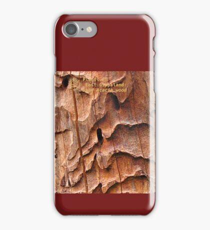 Plants of East Gippsland: Dead Acacia wood iPhone Case/Skin