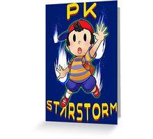 PK Starstorm Greeting Card
