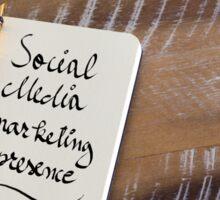 SOCIAL MEDIA MARKETING PRESENCE Sticker