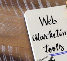 WEB MARKETING TOOLS Sticker