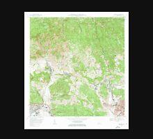 USGS TOPO Map Puerto Rico PR Penuelas 362189 1972 20000 Unisex T-Shirt