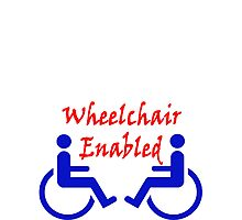 Wheelchair Enabled Photographic Print