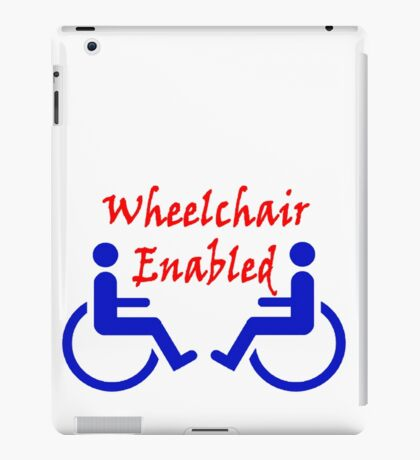 Wheelchair Enabled iPad Case/Skin