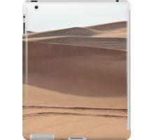 Desert sand dunes. iPad Case/Skin