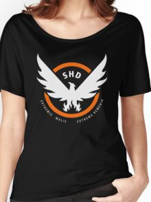 the division Women's Relaxed Fit T-Shirt