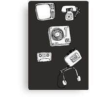 tape and stuff Canvas Print
