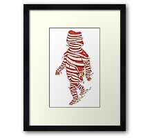 Meat Man Framed Print