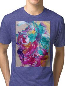 Abstract painting 7 Tri-blend T-Shirt
