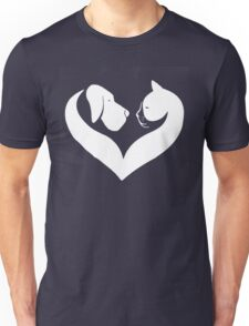 Dog And Cat Love T-Shirt