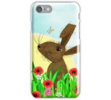 March Hare Spring Time Fun iPhone Case/Skin
