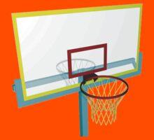 basketball basket Kids Tee