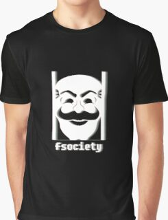 fSociety Mr Robot Graphic T-Shirt
