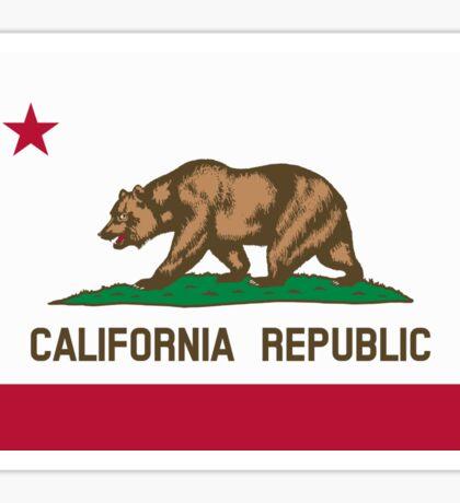 San Francisco Flag of California Sticker