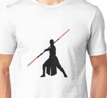 Star Wars - Rey red lightsaber (black) Unisex T-Shirt