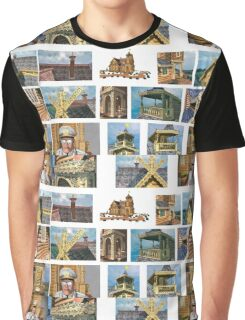 log house Russia Graphic T-Shirt