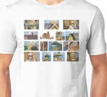 log house Russia Unisex T-Shirt
