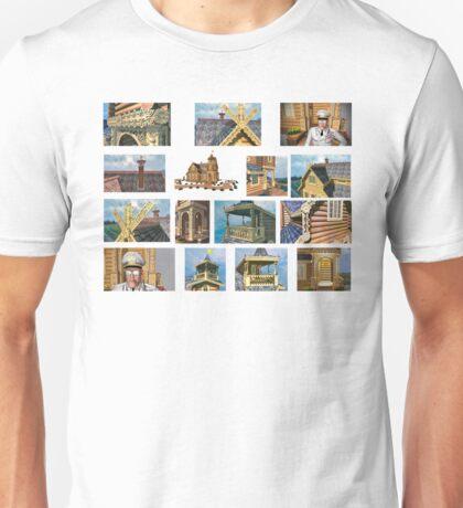 log house Russia Unisex T-Shirt